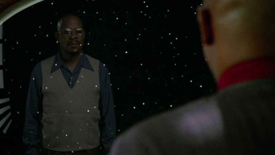 Captain Sisko of the Federation? Or a science fiction writer in 1950s New York?